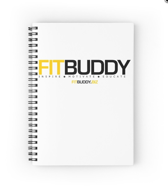 FitBuddy : Spiral Notebook